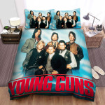 Young Guns Movie Poster 2 Bed Sheets Spread Comforter Duvet Cover Bedding Sets