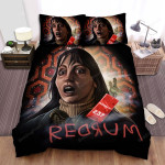 The Shining The Girl With Key Room 237 Art Picture Bed Sheets Spread Comforter Duvet Cover Bedding Sets
