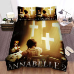Annabelle: Creation Movie Poster I Photo Bed Sheets Spread Comforter Duvet Cover Bedding Sets