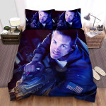 Life (I) (2017) Astronaut Movie Poster Bed Sheets Spread Comforter Duvet Cover Bedding Sets