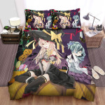 Halloween Witch And Demon Wish Bed Sheets Spread Duvet Cover Bedding Sets
