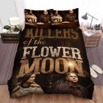 Killers Of The Flower Moon Poster 2 Bed Sheets Spread Comforter Duvet Cover Bedding Sets