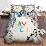 Animal Collective Band Painting With Ver.3 Album Cover Bed Sheets Spread Comforter Duvet Cover Bedding Sets