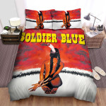 Soldier Blue (1970) Girl And Troop Movie Poster Bed Sheets Spread Comforter Duvet Cover Bedding Sets