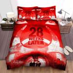 28 Weeks Later Warning Bed Sheets Spread Comforter Duvet Cover Bedding Sets