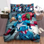 What If...? Many Captains Bed Sheets Spread Duvet Cover Bedding Sets