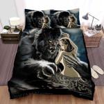 The Wolfman Arrest Bed Sheets Spread Comforter Duvet Cover Bedding Sets