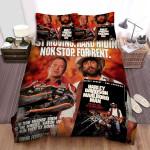 Harley Davidson And The Marlboro Man Poster Ver3 Bed Sheets Spread Comforter Duvet Cover Bedding Sets