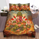Overlord Poster Ver3 Bed Sheets Spread Comforter Duvet Cover Bedding Sets