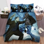 The Wolfman Fight Bed Sheets Spread Comforter Duvet Cover Bedding Sets