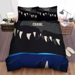 Crawl (I) Movie Art Bed Sheets Spread Comforter Duvet Cover Bedding Sets Ver 3