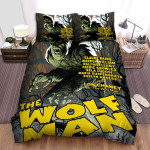 The Wolfman Yellow Bed Sheets Spread Comforter Duvet Cover Bedding Sets
