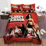 Grindhouse Poster 4 Bed Sheets Spread Comforter Duvet Cover Bedding Sets