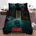 Crawl (I) Movie Poster Bed Sheets Spread Comforter Duvet Cover Bedding Sets Ver 4