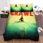 Crawl (I) Movie Poster Bed Sheets Spread Comforter Duvet Cover Bedding Sets Ver 2