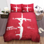 Red State Love Thy Neighbor  Bed Sheets Spread Comforter Duvet Cover Bedding Sets