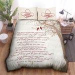 George Strait Bedding Set (Duvet Cover & Pillowcases)