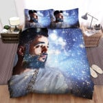 Jon Bellion Portrait Of The Man With Galaxy Light Bed Sheets Spread Comforter Duvet Cover Bedding Sets