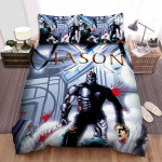 Jason X Movie Poster Ii Photo Bed Sheets Spread Comforter Duvet Cover Bedding Sets