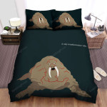 Tusk (I) Walrus Bed Sheets Spread Comforter Duvet Cover Bedding Sets