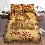 The House Of The Devil Movie Poster I Photo Bed Sheets Spread Comforter Duvet Cover Bedding Sets
