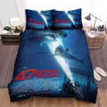47 Meters Down Movie Poster Bed Sheets Spread Comforter Duvet Cover Bedding Sets Ver 10