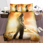 Jason X Movie Sunset Background Photo Bed Sheets Spread Comforter Duvet Cover Bedding Sets