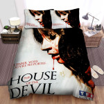 The House Of The Devil Movie Poster V Photo Bed Sheets Spread Comforter Duvet Cover Bedding Sets