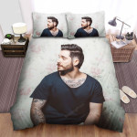 Jon Bellion The Man With Flower Background Bed Sheets Spread Comforter Duvet Cover Bedding Sets
