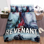 The Revenant (2015) Movie Poster Theme Bed Sheets Spread Comforter Duvet Cover Bedding Sets