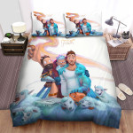 Jon Bellion The Man With Sheep Art Painting Bed Sheets Spread Comforter Duvet Cover Bedding Sets
