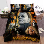 Halloween (I) Movie Art Bed Sheets Spread Comforter Duvet Cover Bedding Sets Ver 6