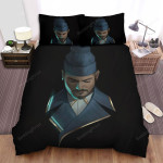 Jon Bellion Portrait Of The Man When He Is Feeling Sadness Bed Sheets Spread Comforter Duvet Cover Bedding Sets