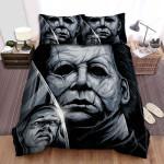 Halloween (I) Movie Art Bed Sheets Spread Comforter Duvet Cover Bedding Sets Ver 4