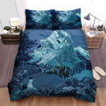 Phenomena Icy Valley Bed Sheets Spread Comforter Duvet Cover Bedding Sets
