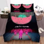 Squid Game (2021) Movie Netflix Series Art Bed Sheets Spread Comforter Duvet Cover Bedding Sets