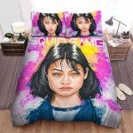 Squid Game (2021) Movie Kang Sae Byeok Art Bed Sheets Spread Comforter Duvet Cover Bedding Sets
