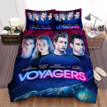 Voyagers (2021) Movie Poster Ver 2 Bed Sheets Spread Comforter Duvet Cover Bedding Sets