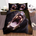 Backcountry (I) Roaring Bear Movie Poster Bed Sheets Spread Comforter Duvet Cover Bedding Sets
