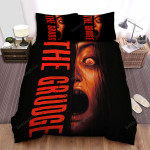The Grudge (2020) The Red Eyes Bed Sheets Spread Comforter Duvet Cover Bedding Sets