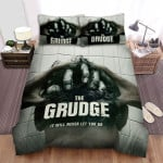The Grudge (2020) Evil Hand Catch Your Head Bed Sheets Spread Comforter Duvet Cover Bedding Sets