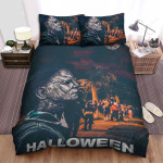 Halloween (I) Movie Art Bed Sheets Spread Comforter Duvet Cover Bedding Sets Ver 25