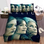 Relic Broken Faces Movie Poster Bed Sheets Spread Comforter Duvet Cover Bedding Sets