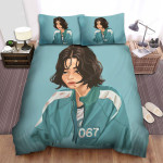 Squid Game (2021) Movie 067 Art Bed Sheets Spread Comforter Duvet Cover Bedding Sets