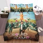 Squid Game (2021) Movie In Child's Day Bed Sheets Spread Comforter Duvet Cover Bedding Sets