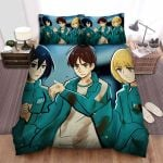 Squid Game (2021) Movie Anime Art Bed Sheets Spread Comforter Duvet Cover Bedding Sets