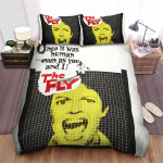 The Fly Movie Poster 2 Bed Sheets Spread Comforter Duvet Cover Bedding Sets