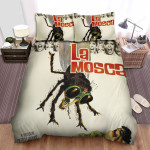 The Fly Scared Woman Bed Sheets Spread Comforter Duvet Cover Bedding Sets
