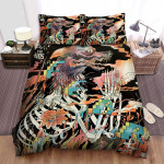 The Shins Band Fear Album Cover Bed Sheets Spread Comforter Duvet Cover Bedding Sets
