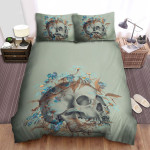 Midsommar Movie Skullcap Photo Bed Sheets Spread Comforter Duvet Cover Bedding Sets